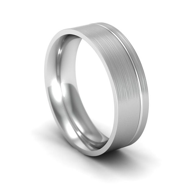 Palladium Wedding Ring